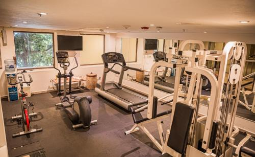 The fitness center and/or fitness facilities at Holiday Inn Resort Acapulco, an IHG Hotel