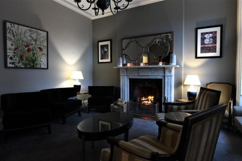 A seating area at The Victoria Hotel