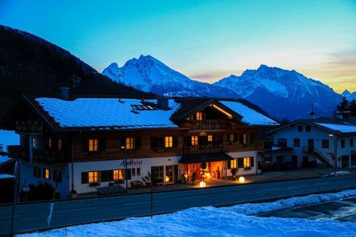 Alpinhotel Berchtesgaden im Winter