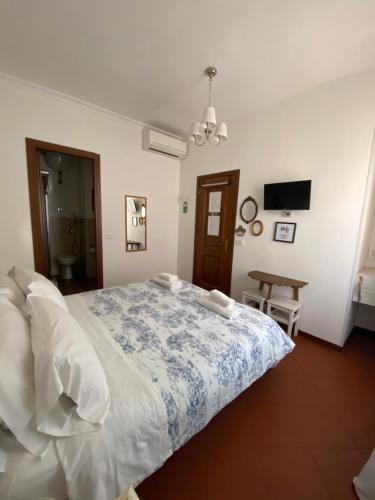 Cama o camas de una habitación en Al Ponte Del Papa B&B
