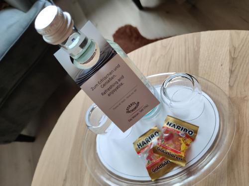 Getränke in der Unterkunft Gasthof Dörsbachhöhe
