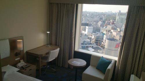 A bathroom at Shibuya Excel Hotel Tokyu