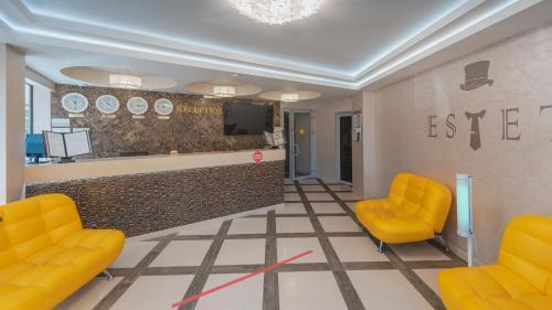 Лобби или стойка регистрации в Отель «Эстет»