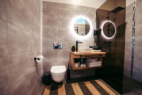 A bathroom at Usma SPA Hotel & Camping