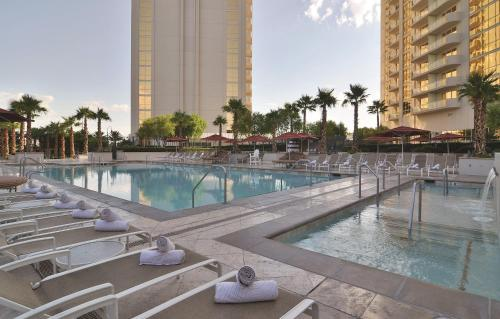 The swimming pool at or near The Signature at MGM