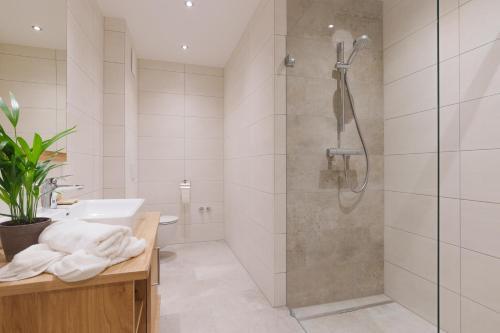 Ванная комната в Gasthof-Restaurant Kollar Göbl