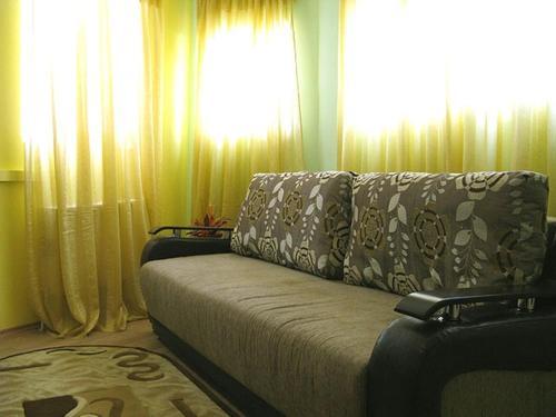 Χώρος καθιστικού στο Hostel Sport