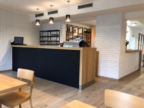 Vstupní hala nebo recepce v ubytování Penzion U Halmů