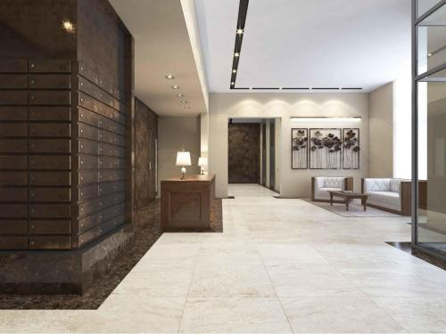 The lobby or reception area at Match Point апартаменты