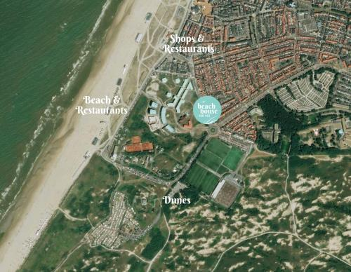 A bird's-eye view of Beach House For You - Luxe verblijf, 5 min van het strand