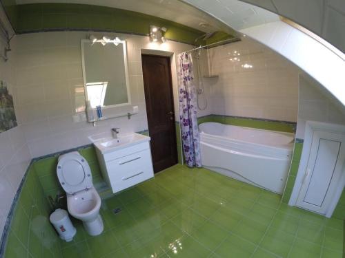 Ванная комната в Мини Отель Лагуна
