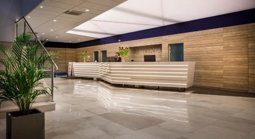 The lobby or reception area at Hotel Marina - Liburnia