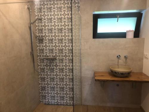 Koupelna v ubytování Runch Smilovice
