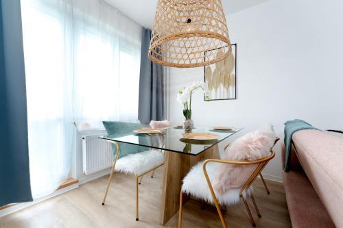 Posezení v ubytování Apartmán Ostrava