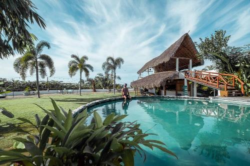 The swimming pool at or near Hotel Maraica San Pancho