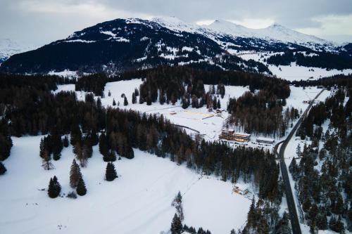 Nordic Hostel - das Zuhause für Sportler during the winter