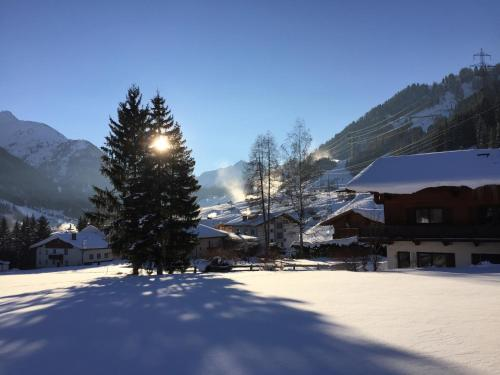 Chalet Griffin during the winter