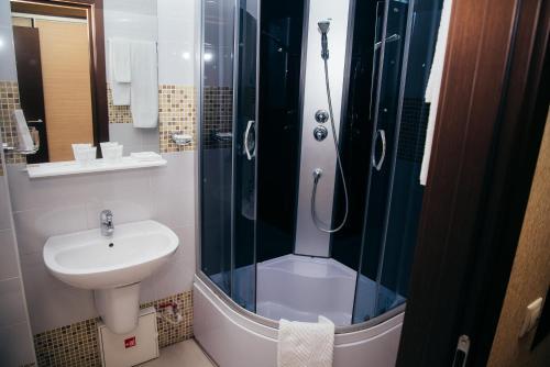 Ванная комната в Гостиница НН18