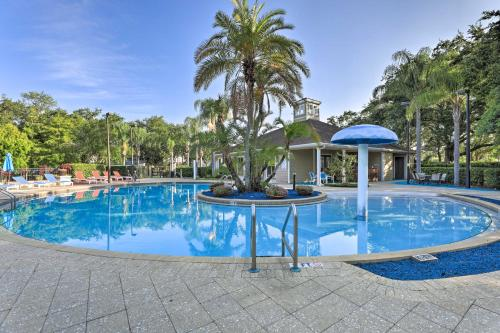 The swimming pool at or close to Lucaya Village Townhome with Pool, 6 Mi to WDW!