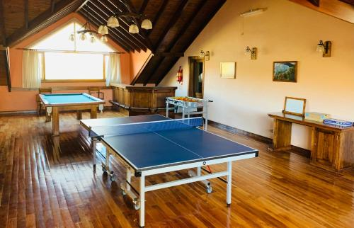 Instalaciones para jugar al tenis de mesa en Patagonia Queen Hotel Boutique o alrededores
