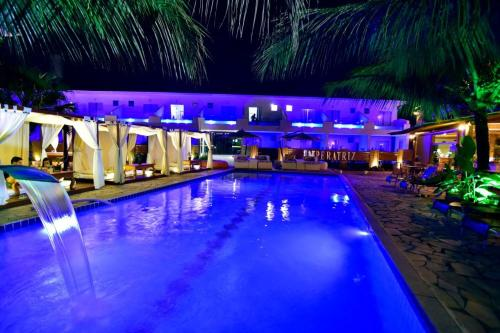 The swimming pool at or close to Imperatriz Paraty Hotel