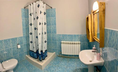Ванная комната в Отдых в Браславе