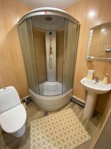 Ванная комната в Туристический комплекс «Таёжник»