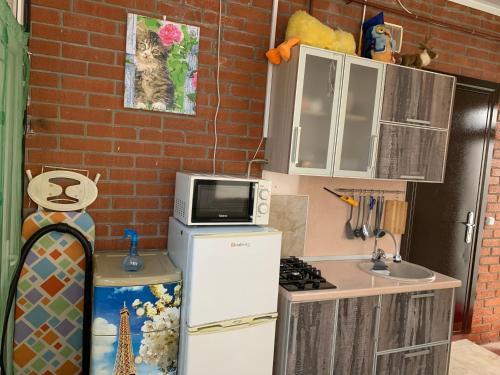 Кухня или мини-кухня в Бухточка