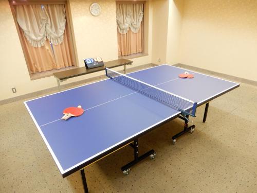 Ping-pong facilities at Kobe Sannomiya Union Hotel or nearby