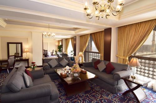 منطقة جلوس في فندق دار التقوى