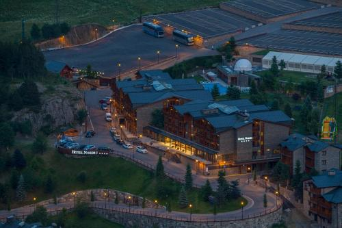 A bird's-eye view of Hotel Nordic