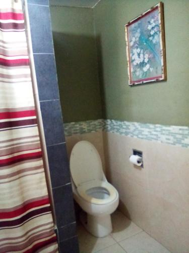 A bathroom at Home Away From Home