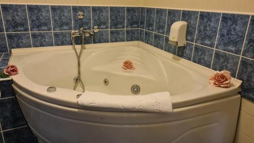 Ванная комната в Hotel Royal Drina