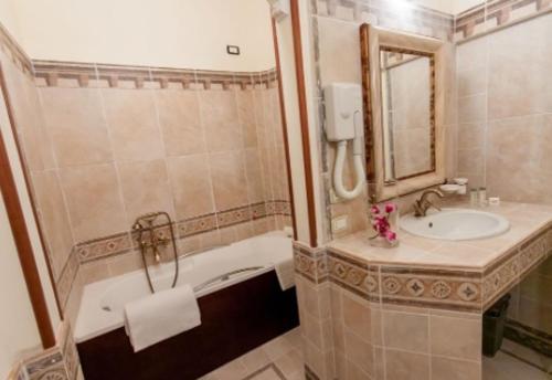 A bathroom at Hotel Parco Dei Cavalieri Assisi