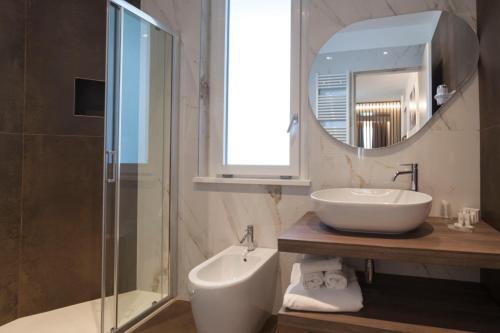 A bathroom at Hotel La Gradisca