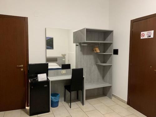 A cozinha ou cozinha compacta de Hotel Alessander