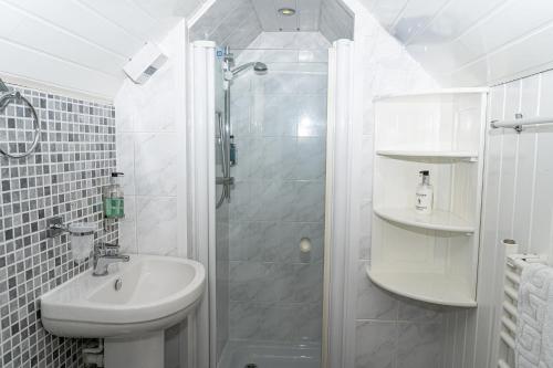 Ванная комната в Stour Lodge Guest House