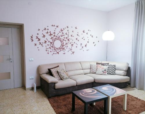 A seating area at Casa di Giulia