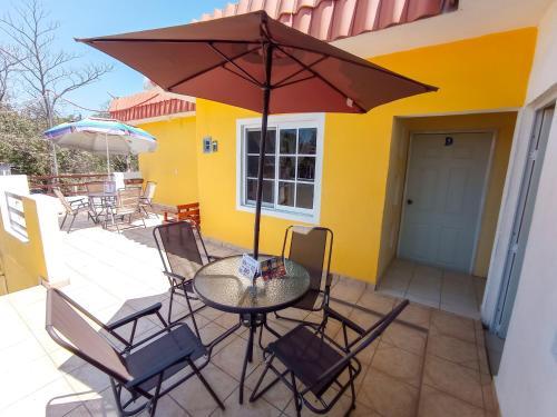 Un balcón o terraza de Estancia Moreno