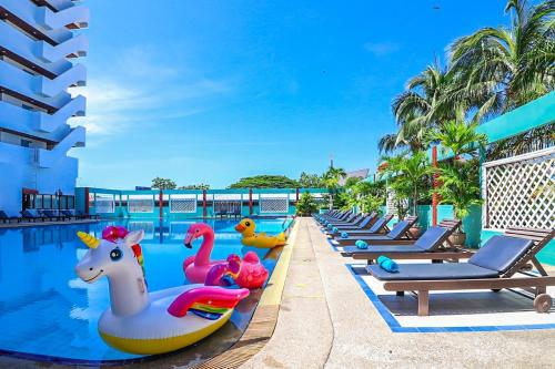 The swimming pool at or near Hua Hin Grand Hotel and Plaza - SHA Plus Certified