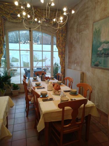 Restaurant ou autre lieu de restauration dans l'établissement Hotel Pinocchio
