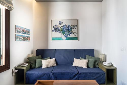 A seating area at 1 min from Accademia : duplex stylish and cosy