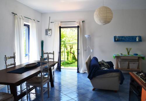 Area soggiorno di Le case di Nina