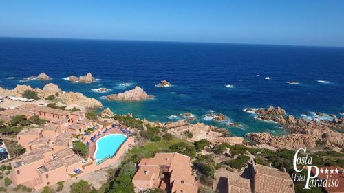 A bird's-eye view of Hotel Costa Paradiso