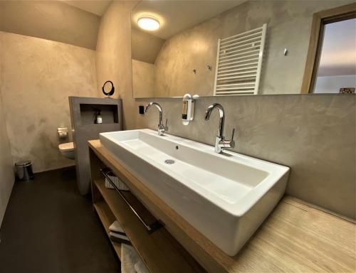 Ein Badezimmer in der Unterkunft NaturBoutique Hotel RAUSZEIT
