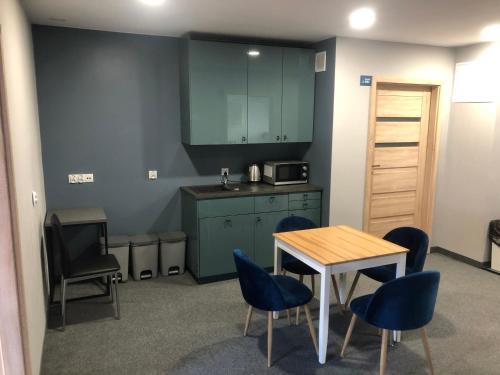 Kuchnia lub aneks kuchenny w obiekcie Bemma Apart Hostel
