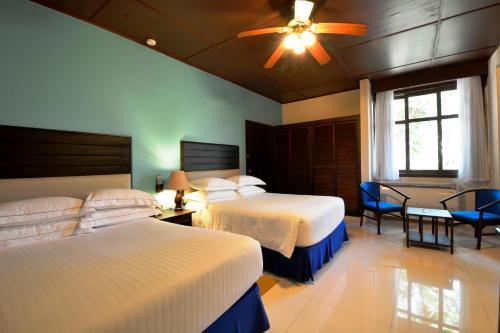 Cama o camas de una habitación en Barceló Montelimar All Inclusive