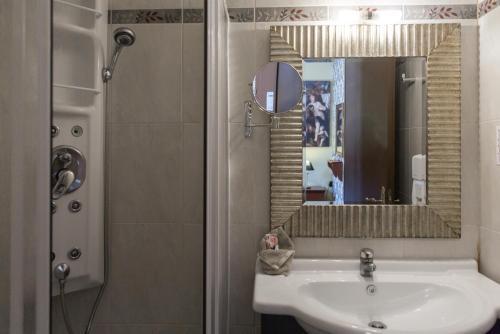 A bathroom at Dias