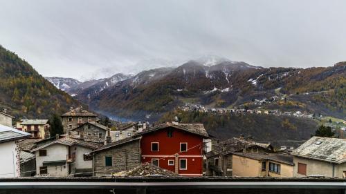 Hotel Pizzo Scalino im Winter