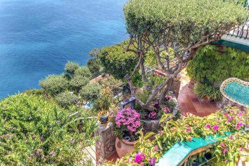 Vista aerea di Villa Ponente
